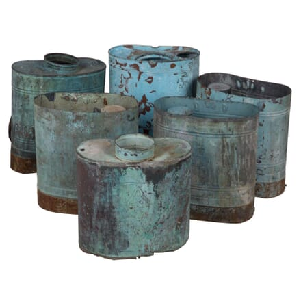 Verdigris French 19th Century Vases DA024759