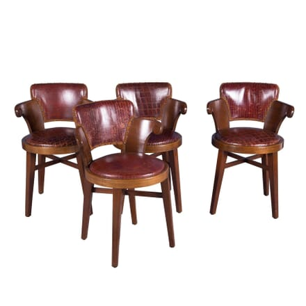 Set of Four 20th Century Tavern Chairs CH4358573