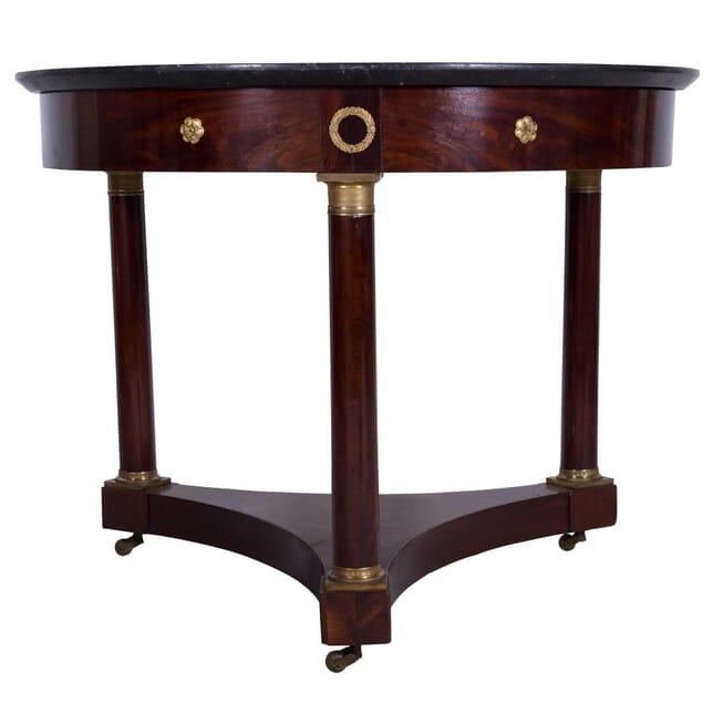 French Empire Mahogany Gueridon Table TC7359913