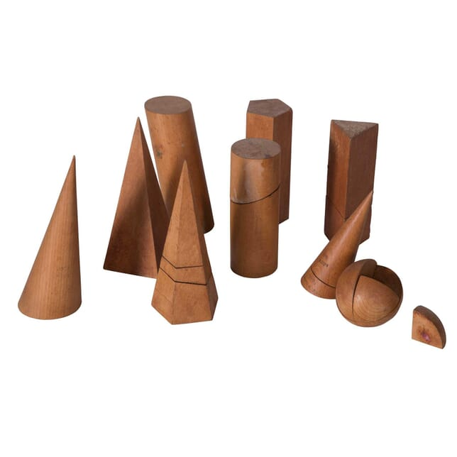 Collection of Wooden Geometric Shapes DA5558799