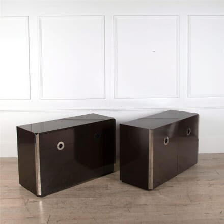 Pair of Small Cabinets by Willy Rizzo CC1662319