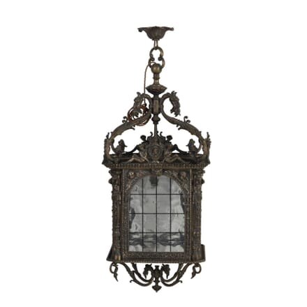 French Silvered Bronze Lantern LL1713188