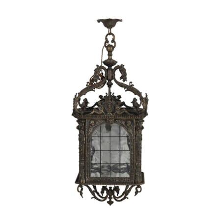 French Silvered Bronze Lantern LL1713188