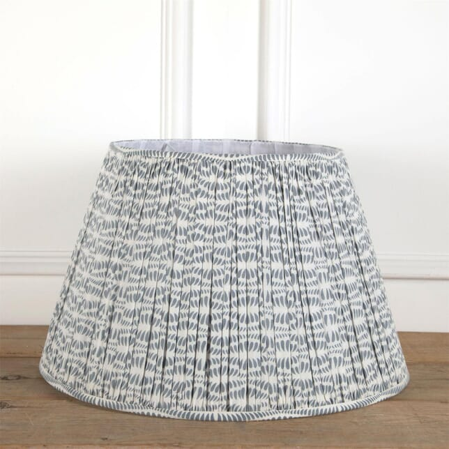 60cm White and Grey Lampshade LS6661350