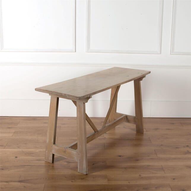Spanish walnut sofa or console table c1900 CO3662087