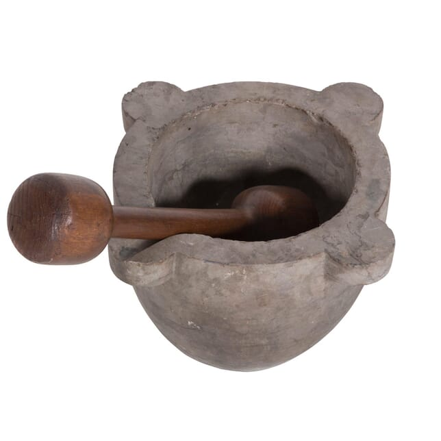 Large Marble Pestle and Mortar DA4559705