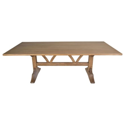 20th Century Oak Refectory Table TD1010080