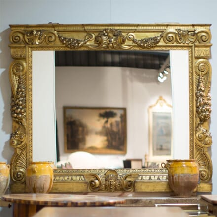 Large Country House Gilt Mirror MI5255651