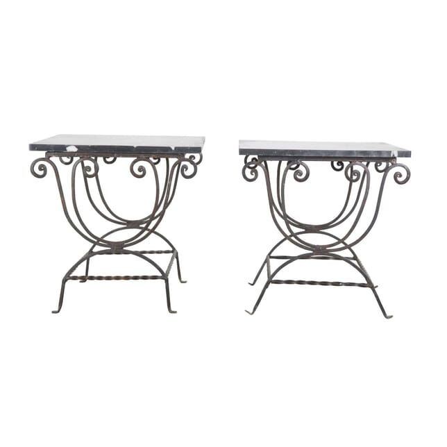 Pair of Marble Top Tables TS5256759