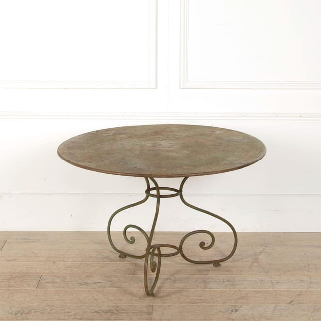 Large French Garden Table GA157049