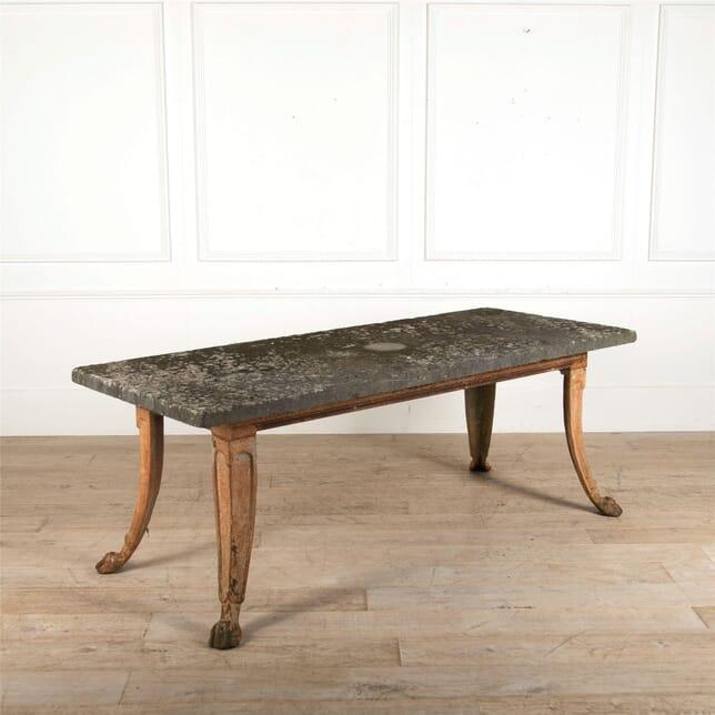 Stone Topped French Garden Table GA287383