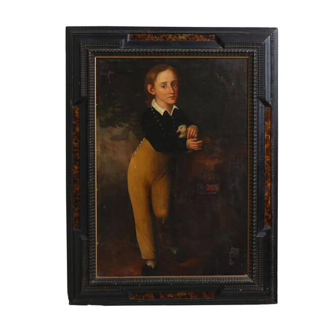 19th Century Oil Painting of a Young Boy WD127461