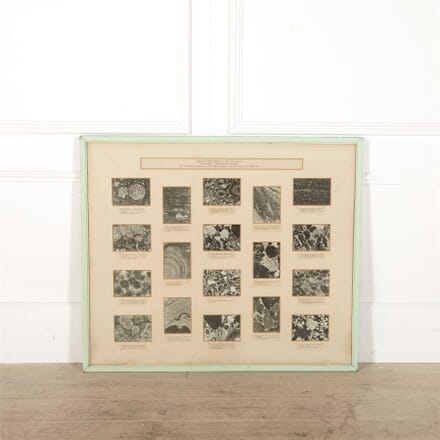Composite Photographic Vignettes of Welsh Iron Minerals WD0562587