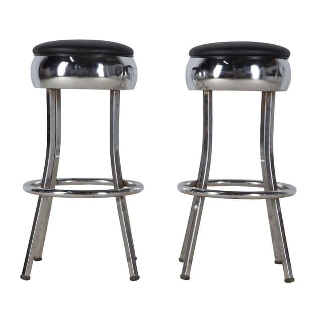 Pair of American Diner Bar Stools ST356661