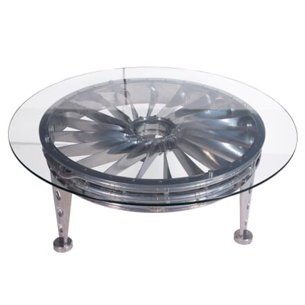 Polished Rolls Royce Intake Fan Table TC5359306