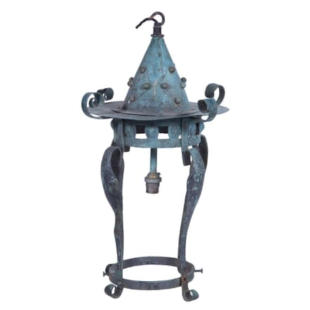 Art Nouveau Copper Lantern LL2359230