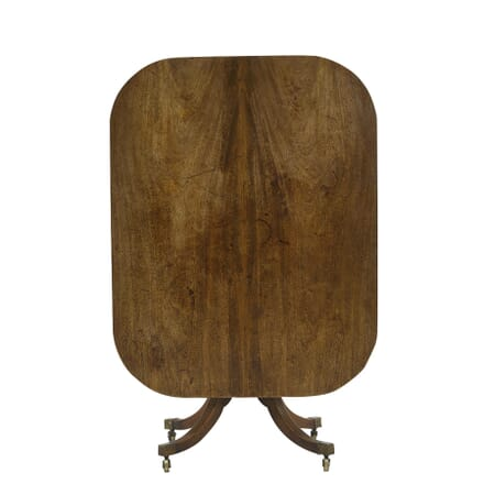 English Regency Mahogany Tilt Top Breakfast Table TD067630