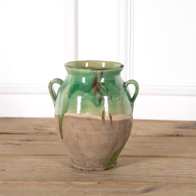 Blue-Green Confit Pot DA717270