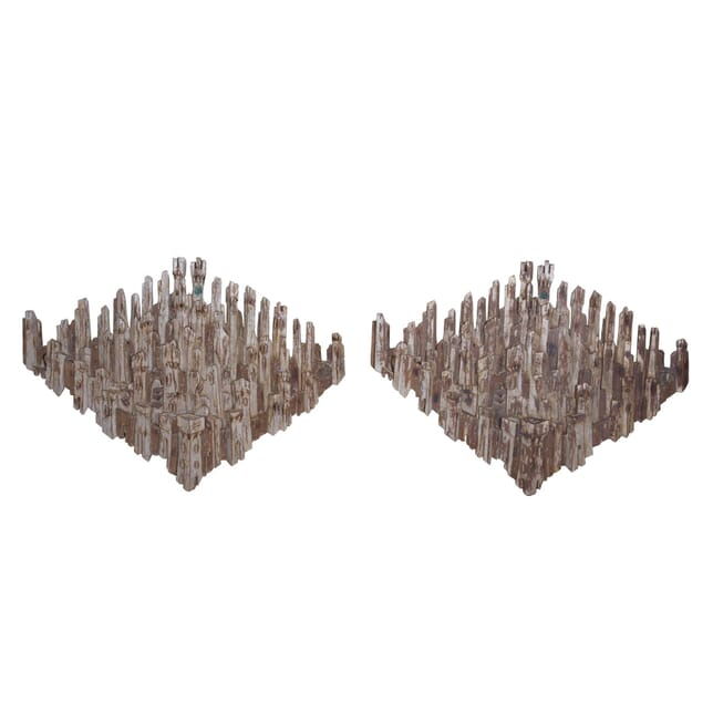 Pair of Architectural Wall Sculptures DA7359924