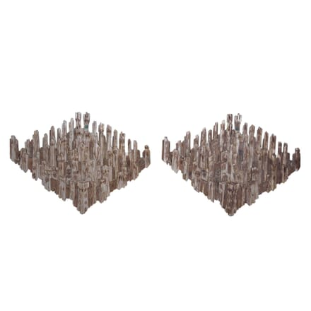 Pair of Architectural Wall Sculptures DA7359924