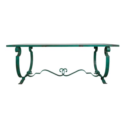 French Wrought Iron Table TD3753586