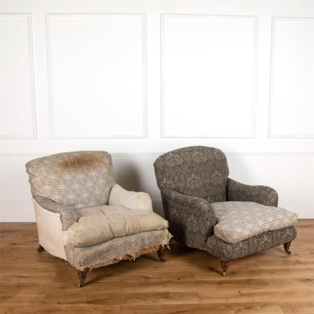 Pair of Howard Ivor Armchairs CH107506
