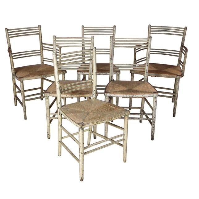 Six Regency Dining Chairs CD1358730