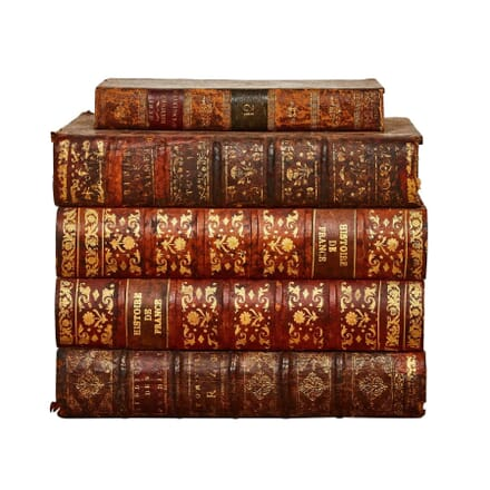 Stack of Faux Books Formed as a Box DA178204