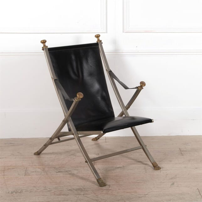 Campaign Style Chair by Maison Jansen CH1662519