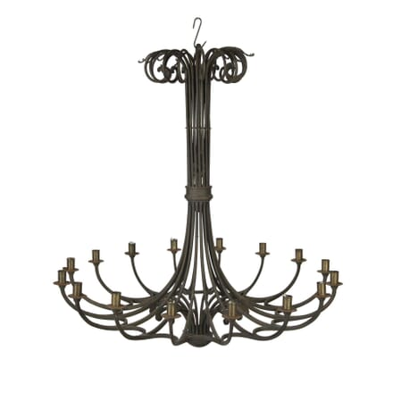 16 Light Iron Chandelier LC5456699