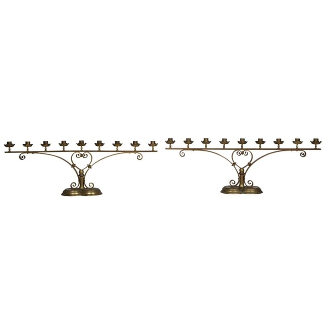 Pair of English Gothic Candelabras DA235308