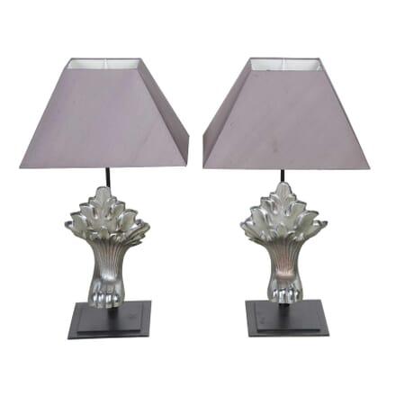 Pair of Nickel Lamps LT4355579