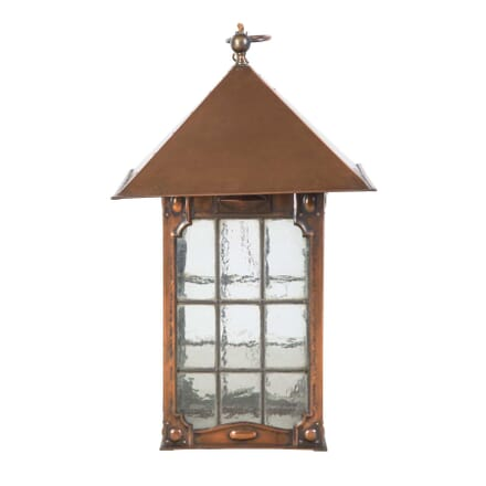 Arts and Crafts Copper Lantern LL0555871