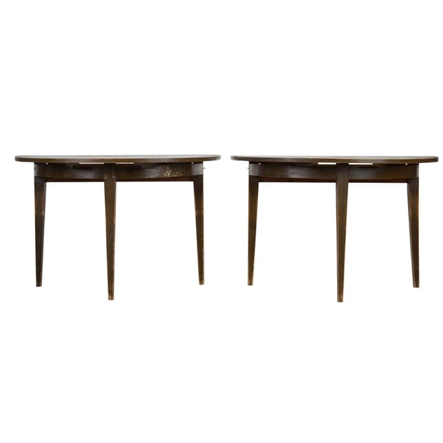 Pair of Swedish Demi Lune Tables TS0155048