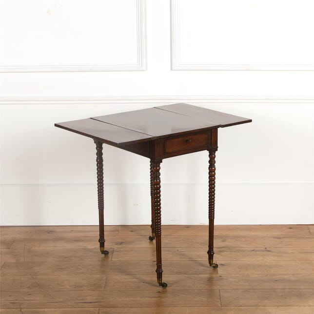 Early 19th Century Plum Pudding Mahogany Table CO107239