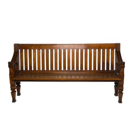 19th Century Hall Bench SB9957473