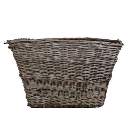 Large Wicker Laundry Basket or Log Bin DA0155985