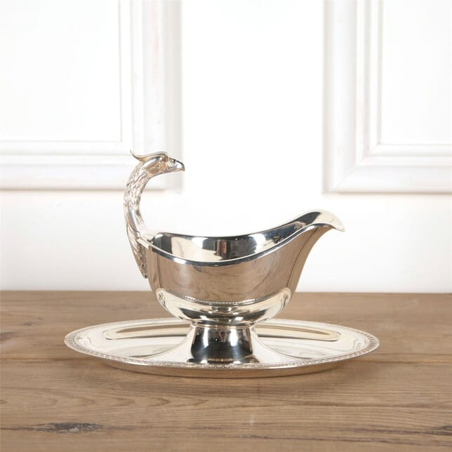 Christofle Malmaison Gravy Boat And Tray DA5862046