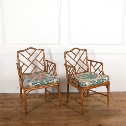 Cane Chairs with Pads CH727545