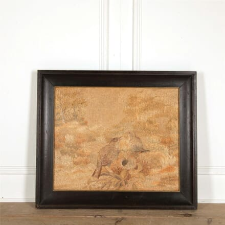 19th Century Framed Silkwork WD157692