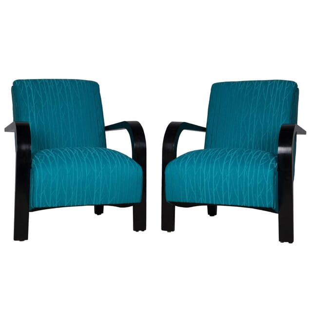 Pair of 1950s French Armchairs CH172531