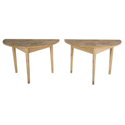 Pair of Swedish Console Tables CO4753895