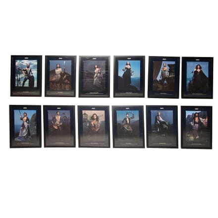 Framed and Glazed 1991 Pirelli Calendar WD5355976