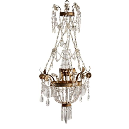 Italian Rock Crystal Chandelier LC1213478