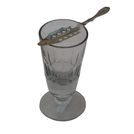 French Absinthe Glass and Spoon DA4454951