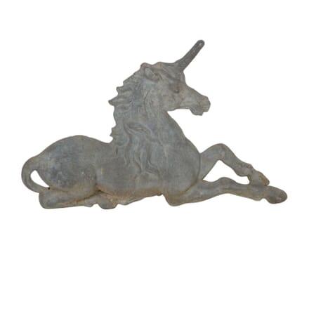 Lead Armorial Unicorn DA5558041
