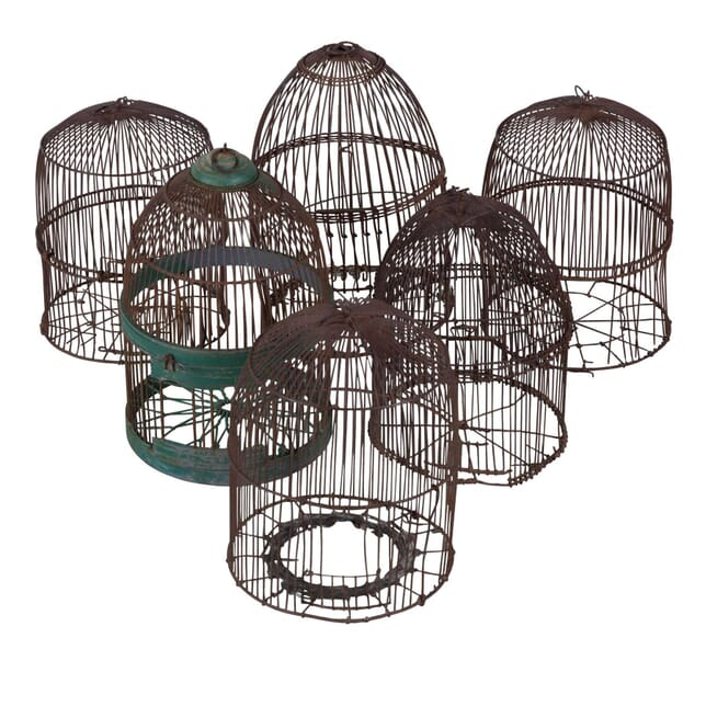 Six Wire Bird Cages DA4053562
