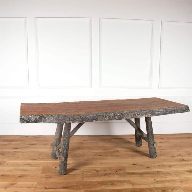 Faux Bois Concrete Table TS3761153