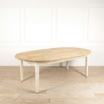 French Oval Dining Table TD047600