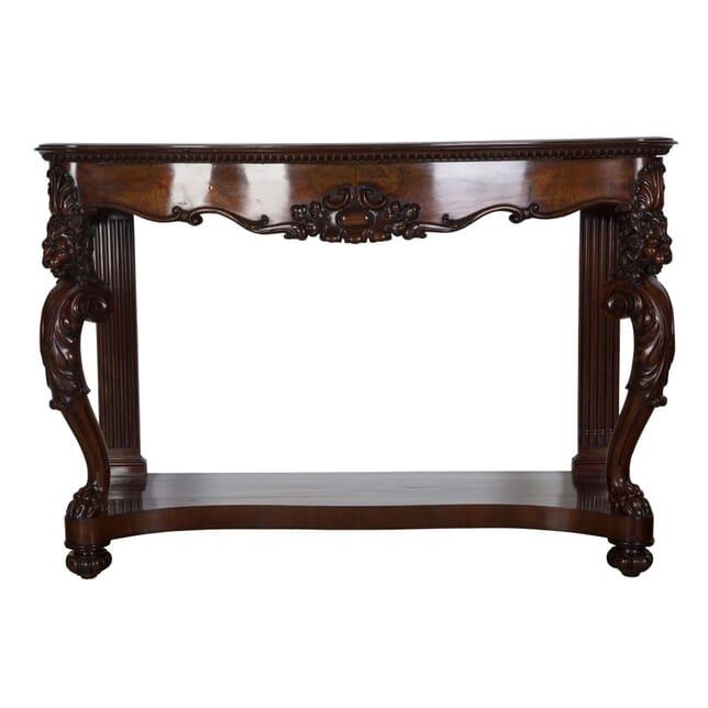 Mahogany Console Table CO5256610